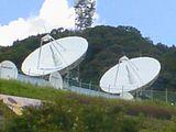 CS放送を送り出しているアンテナたち