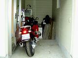 うちの車庫に入ったR1200ST