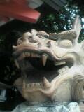 生田神社の長耳