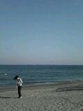 三浦海岸にて
