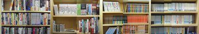 本棚パノラマ