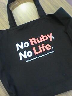No Ruby, No Life.トート