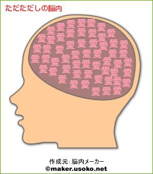 ただただしの脳内