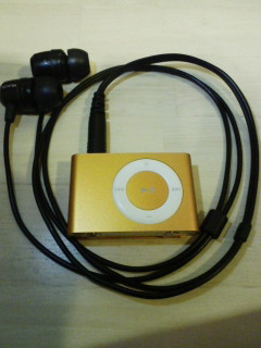 iPod shuffle 1GB + AH-C551-K