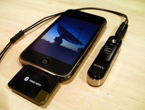 iPhoneとBT15