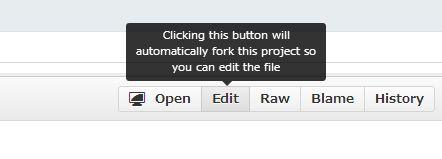 [スクリーンショット]各ファイルのページにある「Edit」ボタン